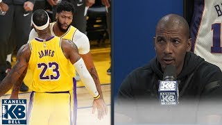 NBA MVP Odds: LeBron lower then AD? | Kanell & Bell