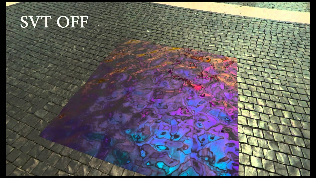 Realtime Physically Based Rendering of Iridescent Oil