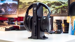 Sennheiser RS 165 Wireless Hi-Fi Headphones Review | Perfect for home audio!