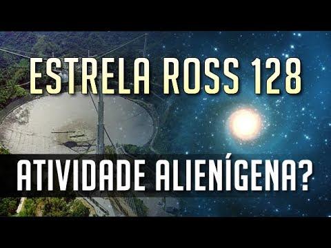 Sinais estranhos da estrela Ross 128