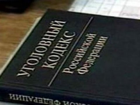 Уголовный кодекс рф статья 20