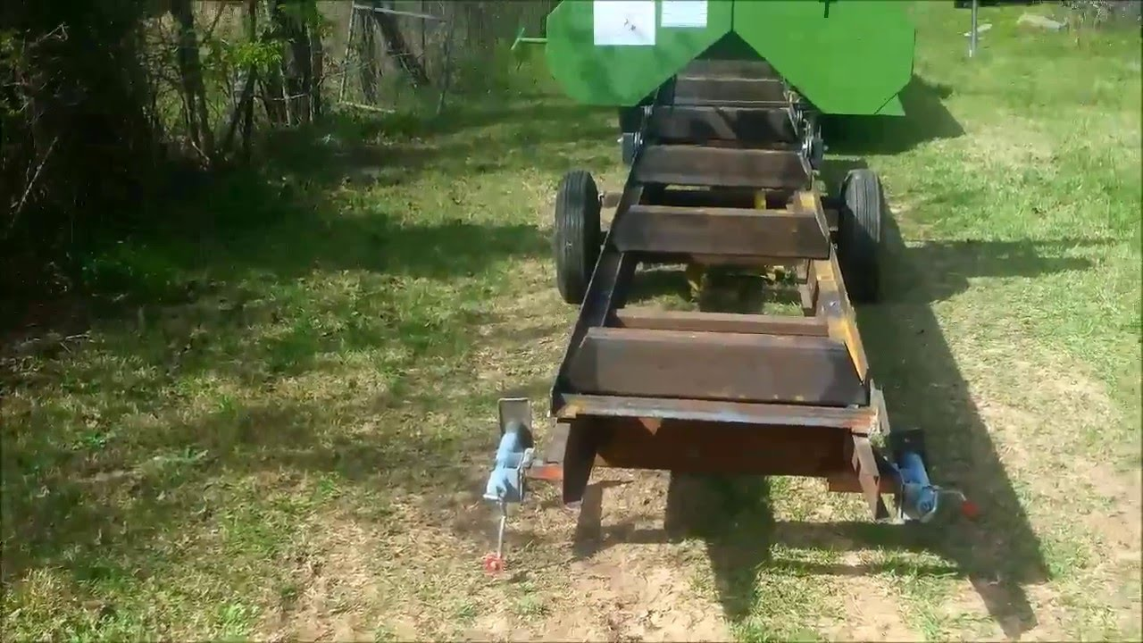 harbor freight sawmill. how to build a sawmill trailer for your harbor freight