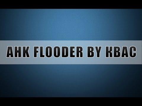 [AHK] Флудер с неограниченным количеством строк + исходник.