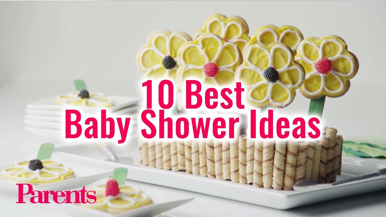 10 Best Baby Shower Ideas | Parents - YouTube