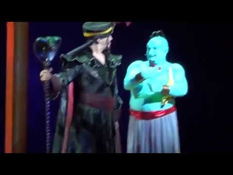 Genie's Jokes and Puns Part 7 - Aladdin A Musical Spectacular at The Disneyland Resort (HD)
