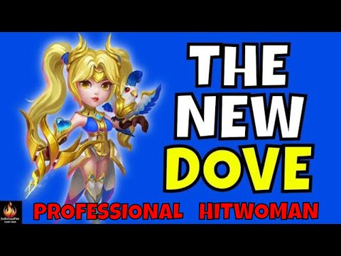 Dove Keeper Castle Clash Best Heroes NEW MAX Build