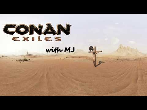 Conan Exiles with MJ: Exploring the great white north