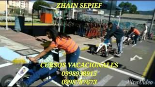 Curso vacacional 2015 Quito norte sur valles Zhain
