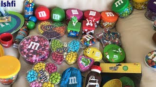 Ishfi's M&M Candy Collection from London M&M Shop