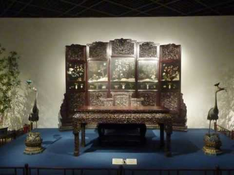 中國明清家具館(Chinese Ming and Qing Furniture Gallery, Shanghai Museum)  20130927