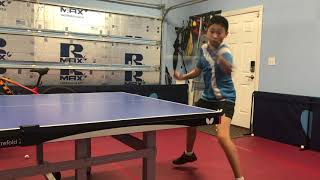 Backhand & Forehand Attack With Zelin Ye (featuring Florance)