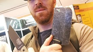 ESEE Cleaver and NEW ESEE 6 HM Survival Knife: What Is This Thing For?  And the ESEE 6 is SWEET!