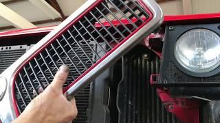 Lancia Delta Integrale turbo removal and rebuild.