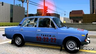 VAZ 2106 TAXI MAXIM Penza - GTA MOD(, 2016-05-12T20:43:06.000Z)