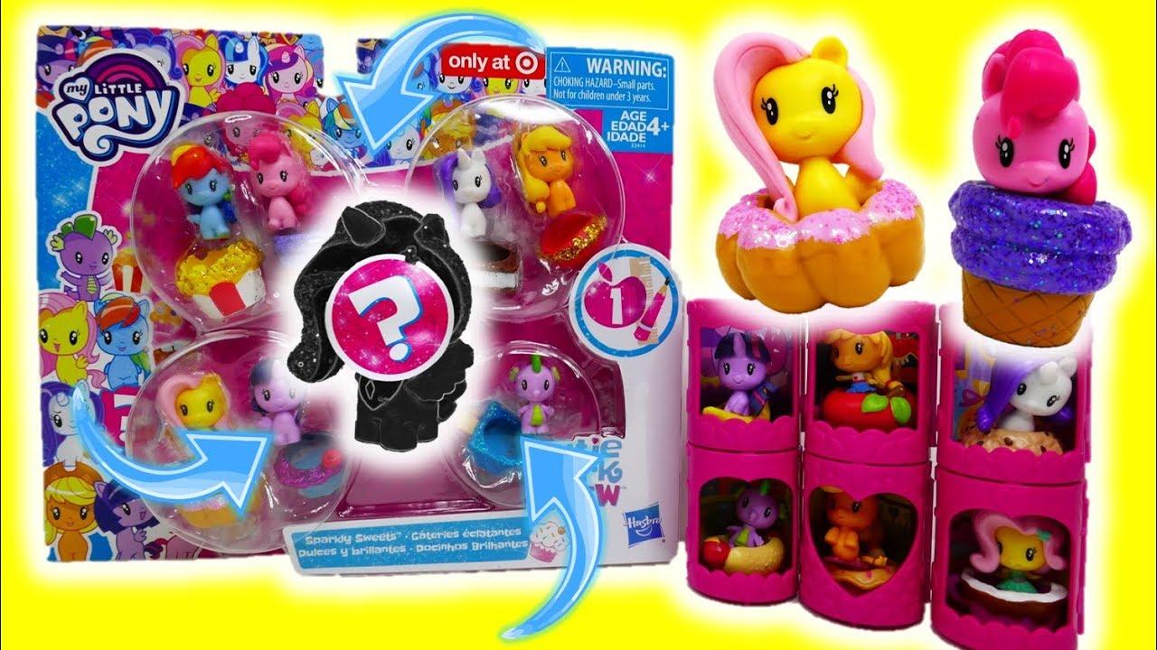 My Little Pony Cutie Mark Crew Bundle Sparkly Sweets 8 Figure Set New MLP