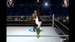 WWE 2K Android Undertaker vs Bray Wyatt Gameplay