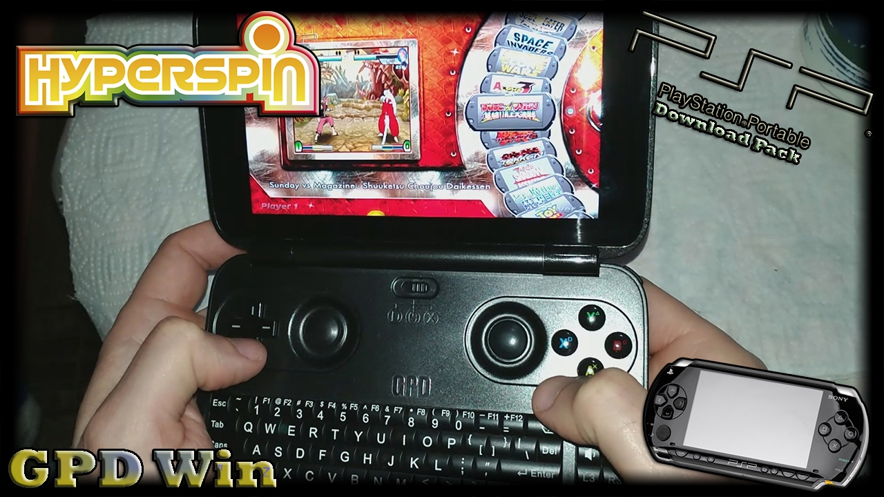 GPD Win (Hyperspin) [Sony PSP Pack] [Download]