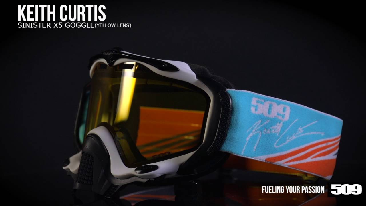 0bf806a58c4 509 Sinister X5 Snow Goggle - Keith Curtis Signature Series - YouTube