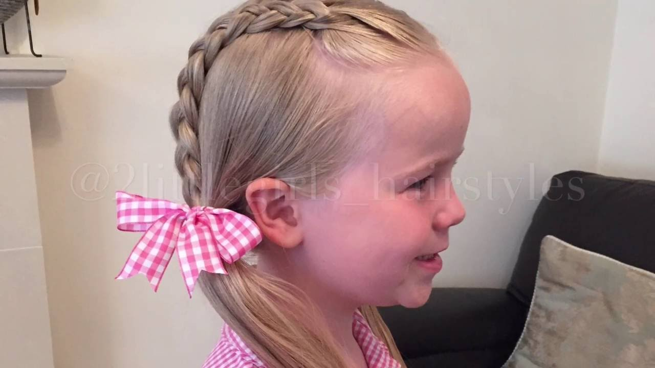 Dutch Pigtails By Two Little Girls Hairstyles Youtube