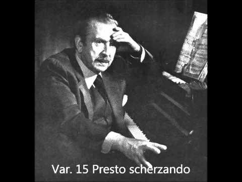 Claudio Arrau plays Beethoven Diabelli Variations Op. 120  1952