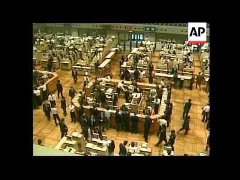 Japan - Shares down at stock market close
