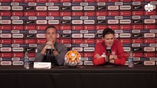 Canada Opening Press Conference - CONCACAF Women's Olympic Qualifying Championship Texas 2016