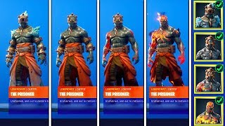 How to unlock the Fire King skin? Fortnite Prisoner Guide All stages