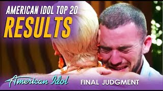 MORE TOP 20 RESULTS: Some SAD Eliminations! Did Your Fave Make It?   American