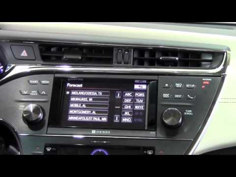 2013 | Toyota | Avalon | Entune Weather App | How To By Brookdale Toyota