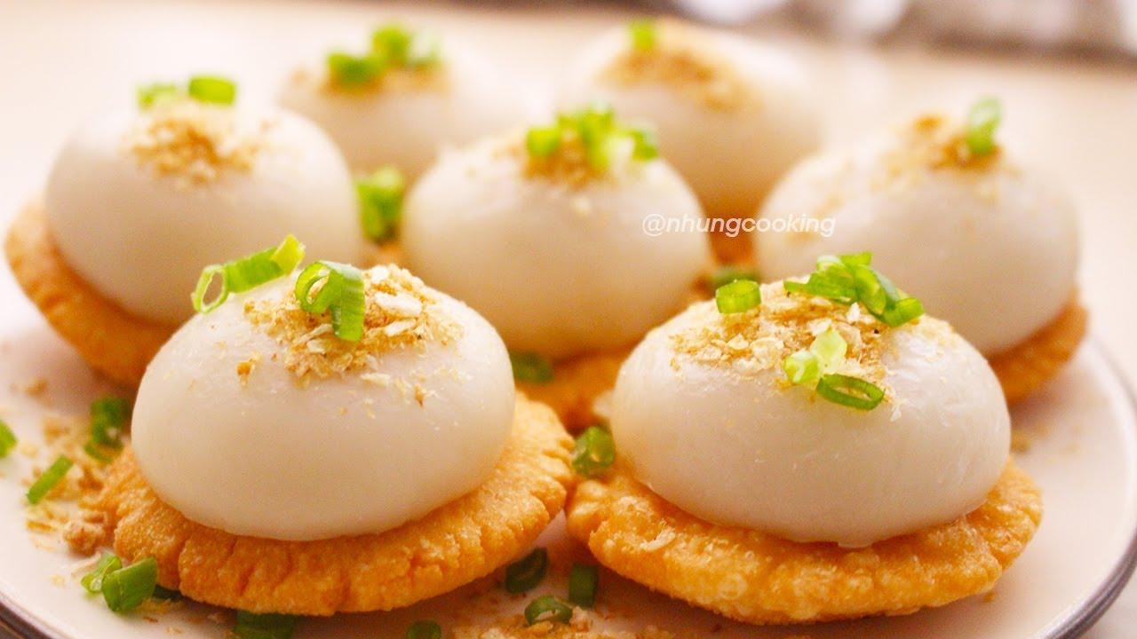 BÁNH RAM ÍT HUẾ Dẻo Giòn Thơm Ngon   Nhung Cooking