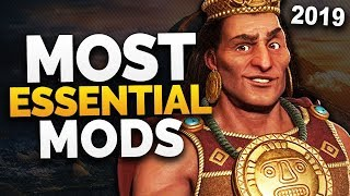Civilization 6: Most Essential Mods | 2019 | Rise and Fall Updated