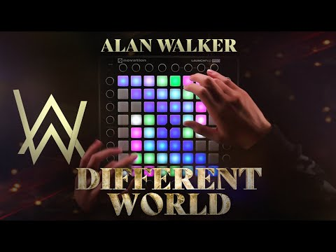 Alan Walker - Different World Feat. Sofia Carson, K-391 & CORSAK | Launchpad Cover [UniPad]