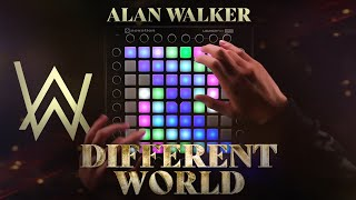 Alan Walker - Different World feat. Sofia Carson, K-391 & CORSAK | Launchpad Cover [UniPad]