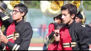 Edison High School Marching Band Performance 10/4/15