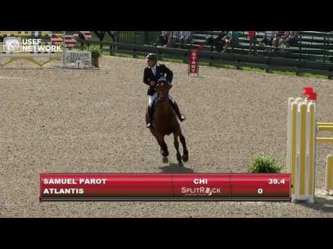 Samuel Parot & Atlantis Win $130,000 CSI3* Split Rock Farm Grand Prix