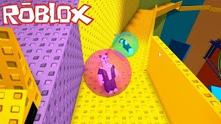 La fin-up gagne! Muskised As A Marble - Roblox Mega Marble Run Pit avec Panda