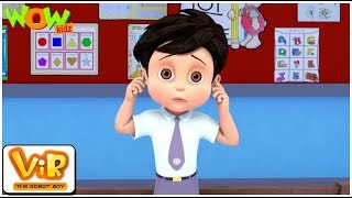 Vir The Robot Boy | Hindi Cartoon For Kids | Vir ki punishment | Animated Series| Wow Kidz