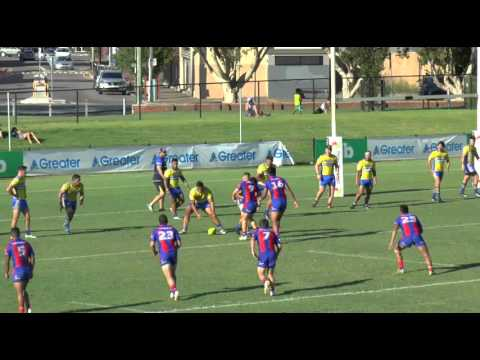 Holden Cup Trial vs Newcastle Knights