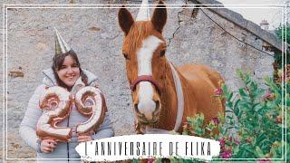 072 ~ [QUOTIDIEN] ~ On fête l'ANNIVERSAIRE de Flika ! (29 ans)
