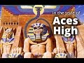 Iron Maiden 'Aces High' style A minor guitar solo backing track (Am 80s Heavy Metal)