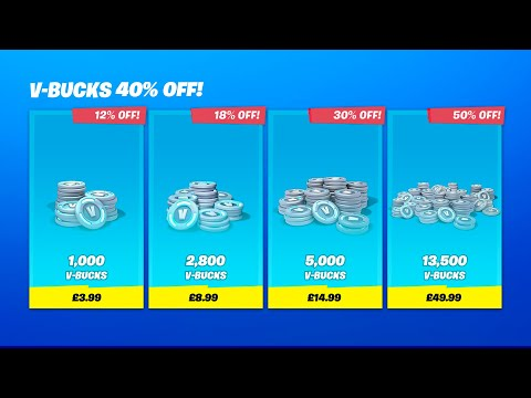 How To Get HALF PRICE *V-BUCKS* With This Glitch... (fortnite Glitches)
