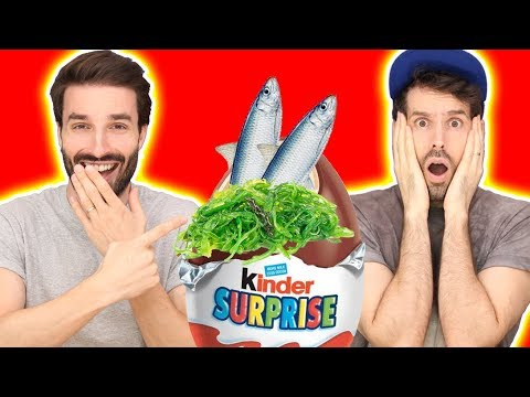 CHALLENGE KINDER SURPRISE AVEC HUBY - CARL IS COOKING