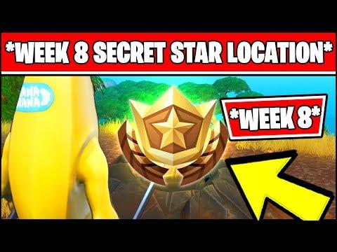 WEEK 8 SECRET BATTLE STAR LOCATION SEASON 10 X (Fortnite Loading Screen 8 Battle Star)