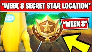 WEEK 8 SECRET BATTLE STAR LOCATION SEASON 10 X (Fortnite Loading Screen 8 Battle Star)