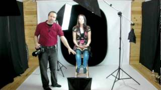 Portrait Photography using continuous lighting