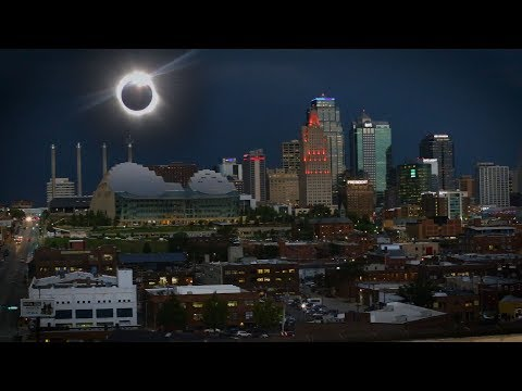 THE DARKEST DAY: Total Solar Eclipse Over Kansas City