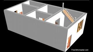 15x30 Small House Design Plan Ii 15x30 Ghar Ka Naksha Ii 450 Ft House Plan Ii 15 By 30 House Design