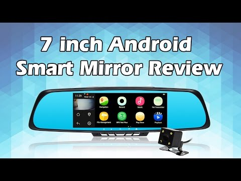 toguard-m30-7quot-android-smart-rearview-mirror-wifi-dual-lens-dash-cam-gps-navigation-fm-transmitter