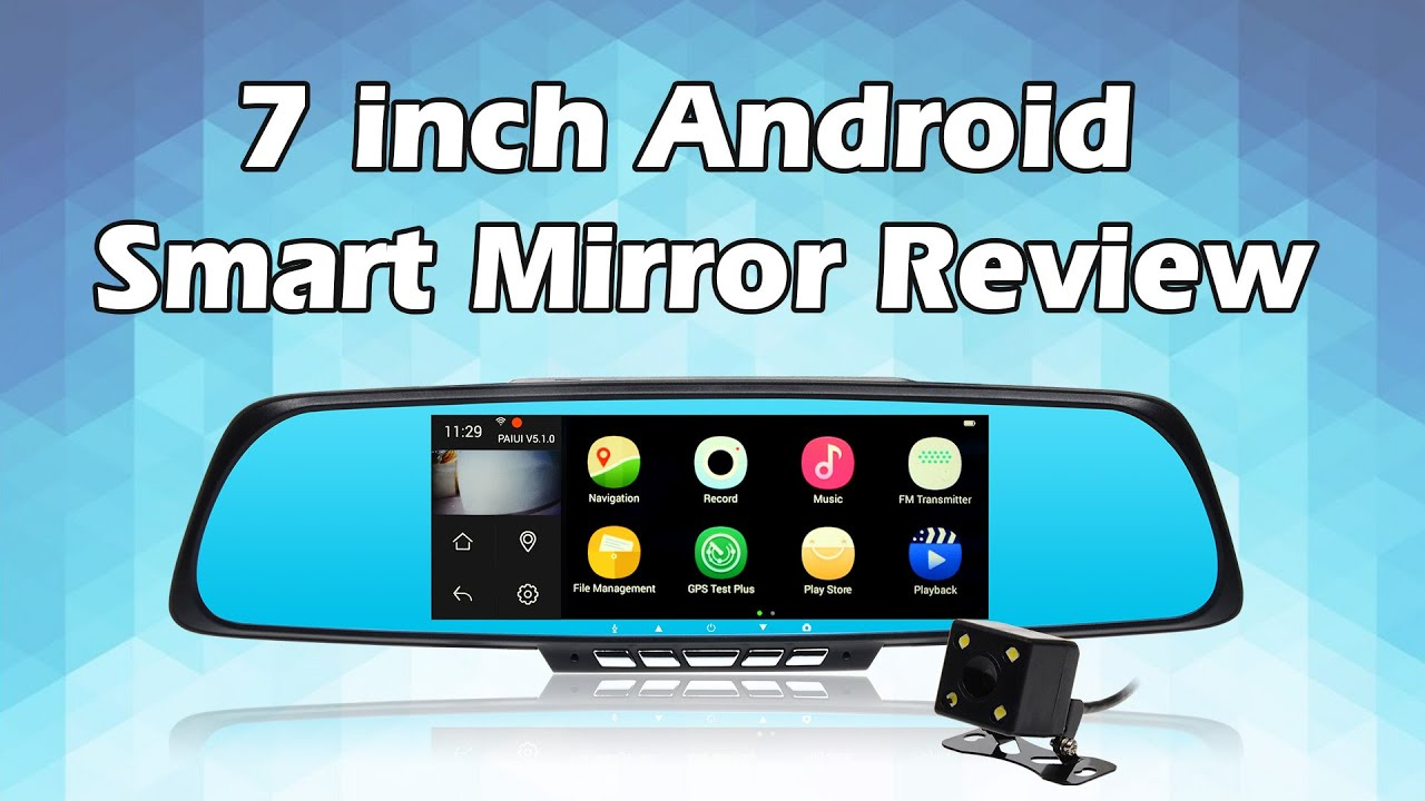 Toguard M30 7 Android Smart Rearview Mirror Wifi Dual