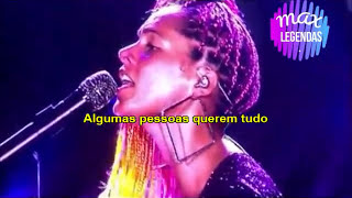 Rock in Rio 2017 || Alicia Keys - If I Ain't Got You (Tradução) (Legendado)